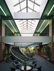 Wasco sdp 54168 54 x 168 double pitch pyramid for Architectural skylight